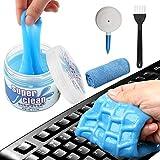 Tastatur Reiniger,FUNVCE Universal Tastatur Reinigungsgel Super Clean Gel Tastatur Reinigung Staubreiniger für Laptop PC Tastaturen, Auto Entlüftungsöffnungen, Kameras, Drucker, Taschenrechner