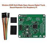Trunk Board Repeater Mmdvm DMR Mehrzweckplatte Open Source PCB Zubehör Elektrisches Sprachmodemmodul Grün Digital Multi Mode Ersatz für Raspberry Pi