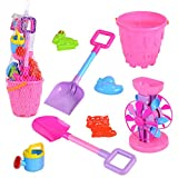 Redcolourful Kinder 8 Teile/Satz Strand Sand Spielen Spielzeug Set Eimer Harken Sand Rad Bewässerung Sand Spielen Bad Spielzeug