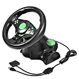 Unbekannt Racing Controller, Gaming Vibration Racing Lenkradpedale für Xbox 360/PS2/PS3/PC