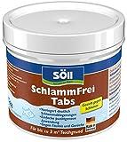 Söll 20085 Teichpflegemittel SchlammFrei Tabs, 1 x 3 Tabs, braun