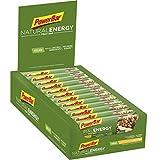 PowerBar Energieriegel Natural Energy Fruit Bar - Fruchtriegel + Magnesium bei erhöhtem Energiebedarf - Vegan - 24 x 40g Apfel Strudel