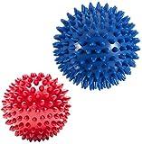Massageball / Fußmassageroller für den ganzen Körper, für Tiefengewebe, Triggerpunkt, therapeutische Massage, Yoga-Bälle, Physiotherapie-Ausrüstung, Plantarfasziitis, kompakte Muskelrolle
