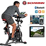 Schwinn Speedbike IC8 mit Bluetooth Indoor Cycle mit Magnetwiderstand, max. Benutzergewicht 150 kg, 100-fache Widerstandsverstellung mit digitaler Anzeige