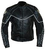 protectWEAR Motorrad - Lederjacke WMB-303-52