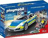 Playmobil 70067 City Action Porsche 911 Carrera 4S Polizei, bunt