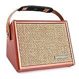 ammoon Gitarrenverstärker Mini Combo Amp Portable Verstärker für Gitarre (Gelb)