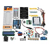 RouYuan for Arduino UNO R3 Einsteiger Basic Kit LCD1602 Breadboard Prototype Shield Sensor