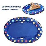 Heoolstranger Freundliche Person Spring Float Paddel Pfoten Hundebecken Float Haustier Hngematte Float Schwimmbad - Gro (65 lbs und hher) Pleasant Useful