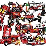 XHKJ [KOstenloser Versand] Stadtpolizei 10 in 1 Polizeiauto Kinderspielzeug Kleine Partikel Junge Rechtschreibung Bausteine