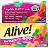 Nature's Way, Alive! Damen 50+ Komplettes Multivitamin-Präparat, 50 Tabletten