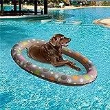 crazerop Hundepool, aufblasbarer Hngematten-Haustierpool, Schwimmbett-Frhlings-Sommer-Schwimmring fr Haustier intensely Various Occasions