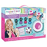 Make It Real 02502 Glitter Dream Nail Spa, Multi-Colored