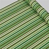 WCX Tapetenkleister PVC-Tapeten Selbstklebende wasserdicht Schlafzimmer Schlaf Tapete Möbel Renovierung Aufkleber Mittelmeer Stripes Sticky (Color : NO 1, Dimensions : 45 cm x 10 m)